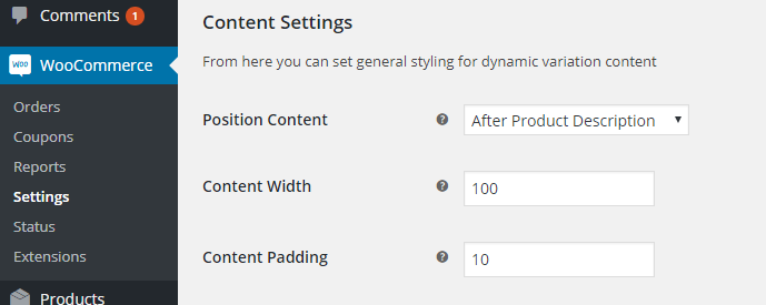 WooCommerce Dynamic Variation Content Plus - 3